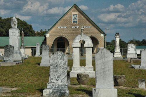 historic bethlehem baptist church cemetery ben hill county ga photograph copyright brian brown vanishing south georgia usa 2010
