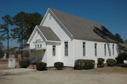 historic mystic baptist church irwin county ga photograph copyright brian brown vanishing south georgia usa 2010