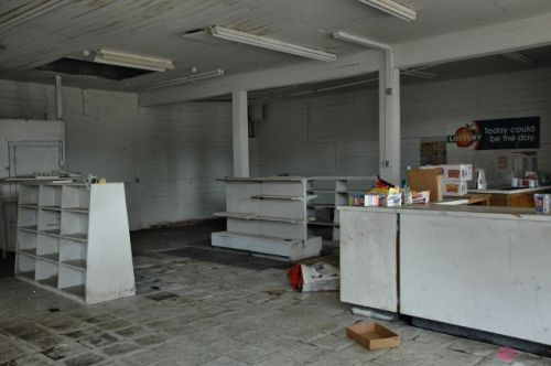 leary ga abandoned store photograph copyright brian brown vanishing south georgia usa 2010