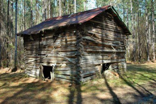 long county ga tobacco barn photograph copyright brian brown vanishing south georgia usa 2010