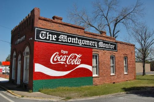 mount vernon ga montgomery monitor building photograph copyright brian brown vanishing south georgia usa 2010