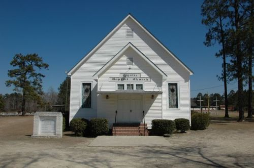mystic baptist church irwin county ga photograph copyright brian brown vanishing south georgia usa 2010