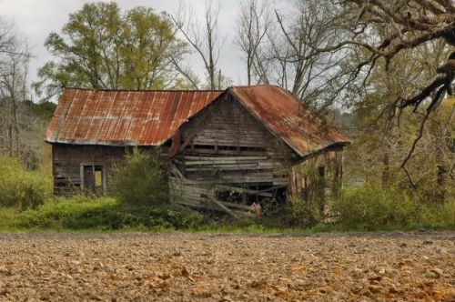 rowena ga abandoned farmhouse photograph copyright brian brown vanishing south georgia usa 2010