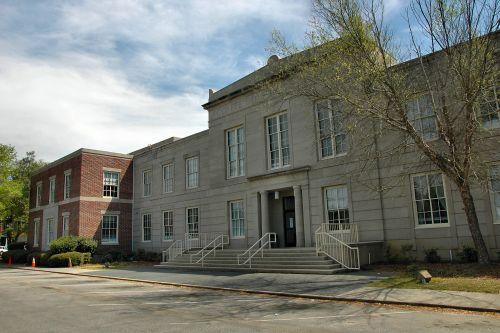 coffee county courthouse douglas ga photograph copyright brian brown vanishing south georgia usa 2010