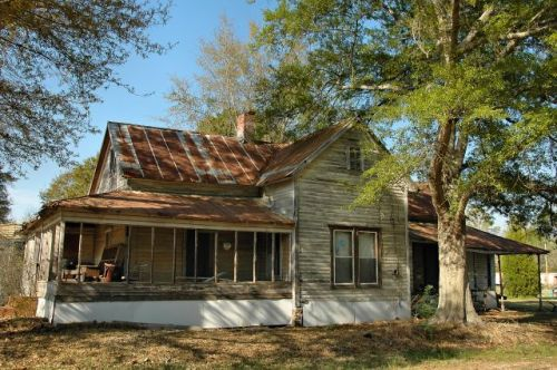 denton ga vernacular house photograph copyright brian brown vanishing south georgia usa 2010