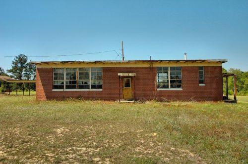 jeff davis county satilla school lunchroom photograph copyright brian brown vanishing south georgia usa 2010