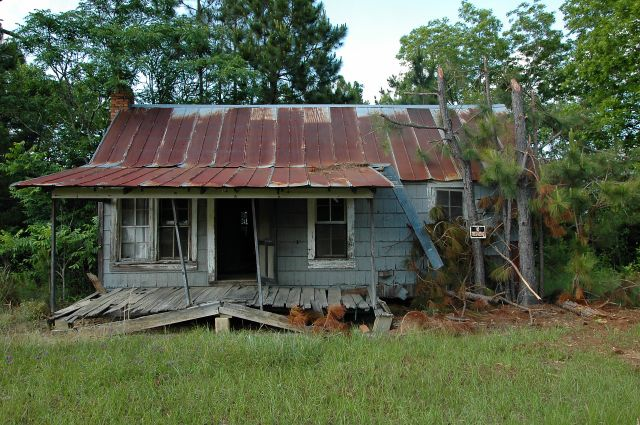 double run ga herman moore house photograph copyright brian brown vanishing south georgia usa 2010