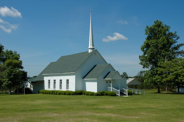 historic double run baptist church wilcox county ga photograph copyright brian brown vanishing south georgia usa 2010