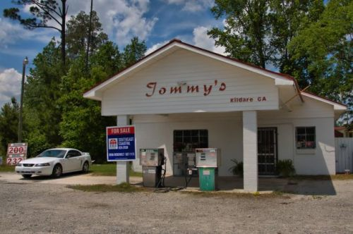 kildare ga tommys store photograph copyright brian brown vanishing south georgia usa 2016