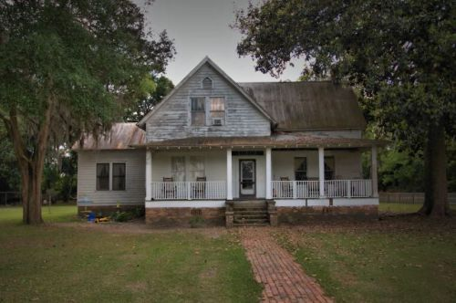 oliver ga huggins house photograph copyright brian brown vanishing south georgia usa 2016