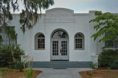 dasher bible school lowndes county ga photograph copyright brian brown vanishing south georgia usa 2010