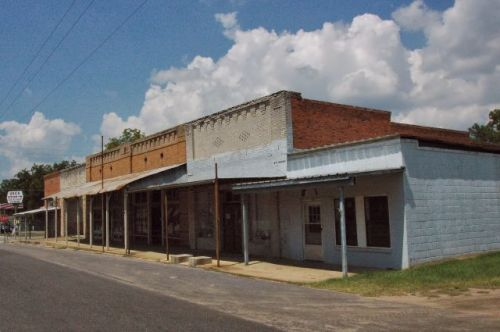sale city ga historic storefronts photograph copyright brian brown vanishing south georgia usa 2010