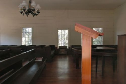 historic pearsons chapel methodist church altamaha ga photograph copyright brian brown vanishing south georgia usa 2010
