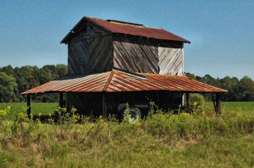 ritch ga wayne county tobacco barn photograph copyright brian brown vanishing south georgia usa 2010