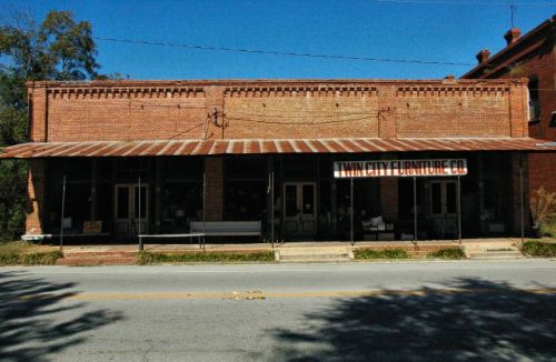 twin city ga general store photograph copyright brian brown vanishing south georgia usa 2010