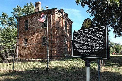 Chattahoochee County Jail, 1902, Cusseta | Vanishing South