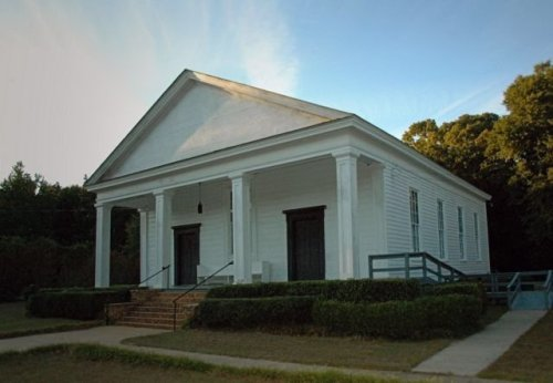 historic friendship baptist church sumter county ga photograph copyright brian brown vanishing south georgia usa 2010