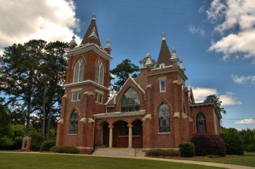 historic marshallville first baptist church ga photograph copyright brian brown vanishing south georgia usa 2016
