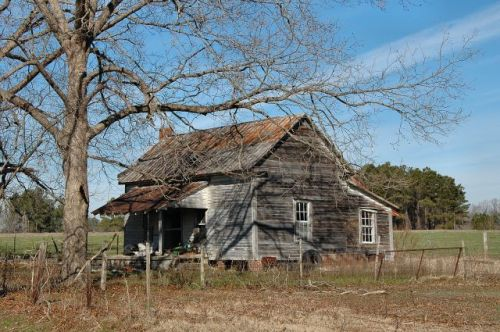 emanuel county ga vernacular farmhouse photograph copyright brian brown vanishing south georgia usa 2011