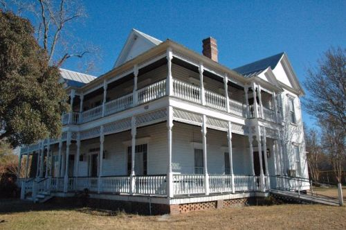 hagan ga deloach house photograph copyright brian brown vanishing south georgia usa 2011