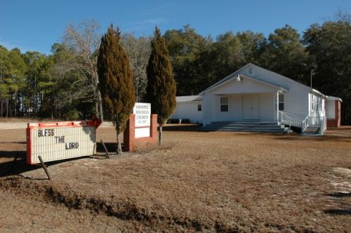 ohoopee holiness church toombs county ga photograph copyright brian brown vanishing south georgia usa 2011