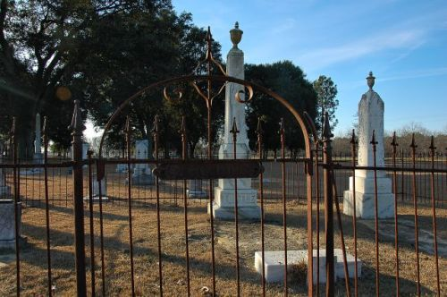 old shiloh cemetery tattnall county ga photograph copyright brian brown vanishing south georgia usa 2011