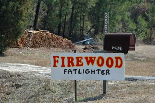 bachlott ga fatlighter firewood photograph copyright brian brown vanishing south georgia usa 2011