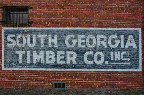 folkston ga south georgia timber company photograph copyright brian brown vanishing south georgia usa 2011