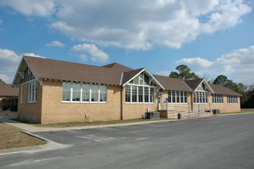 folkston grammar school ga photograph copyright brian brown vanishing south georgia usa 2011