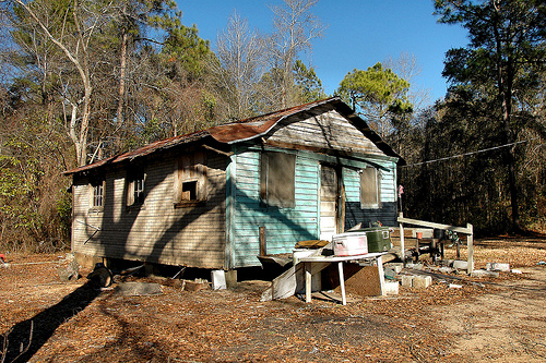 nevils ga vernacular house photograph copyright brian brown vanishing south georgia usa 2011