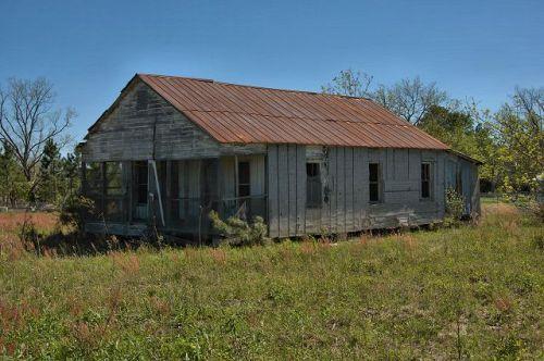 offerman ga vernacular farmhouse photograph copyright brian brown vanishing south georgia usa 2011
