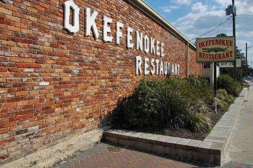 okefenokee restaurant folkston ga photograph copyright brian brown vanishing south georgia usa 2011