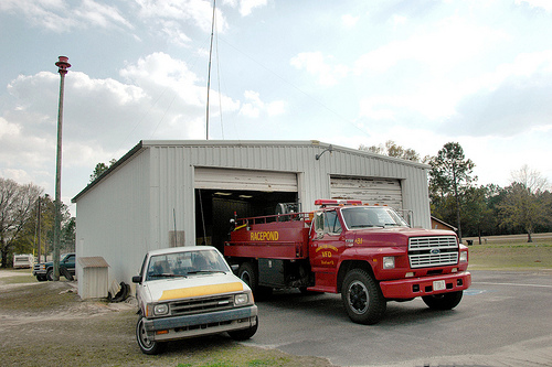 racepond ga volunteer fire department photograph copyright brian brown vanishing south georgia usa 2011