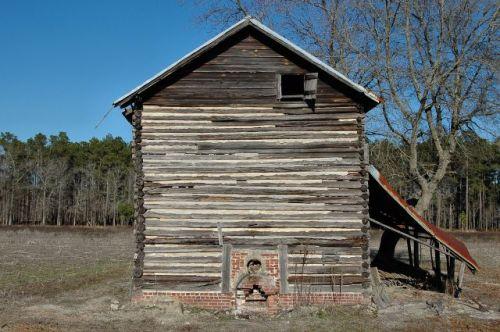 tattnall county ga tobacco barn photograph copyright brian brown vanishing south georgia usa 2011