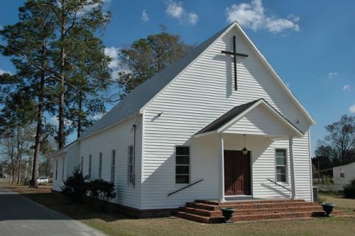 historic surrency united methodist church photograph copyright brian brown vanishing south georgia usa 2011