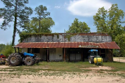 cogdell ga abandoned store post office photograph copyright brian brown vanishing south georgia usa 2011