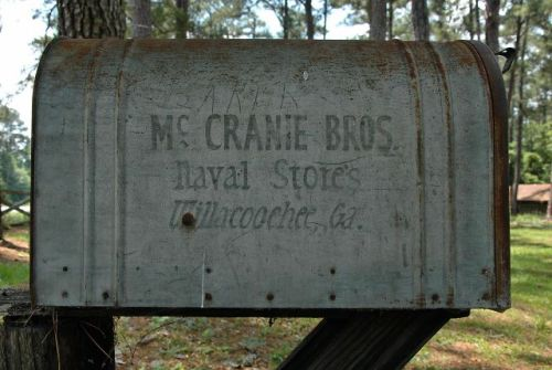 willacoochee ga mccranie brothers turpentine still mailbox photograph copyright brian brown vanishing south georgia usa 2011