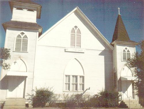 Abba Baptist Church, 1960s, Photo Courtesy Mike Kitchens
