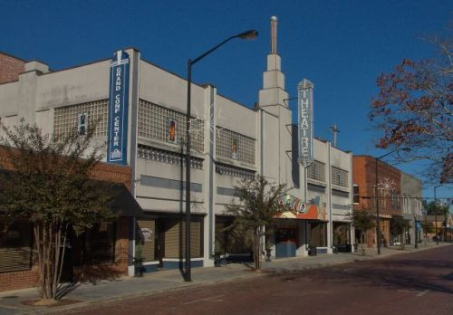 fitzgerald ga grand theatre photograph copyright brian brown vanishing south georgia usa 2011