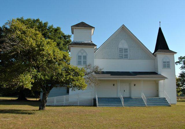 Abba Baptist Church, 1907, Irwin County