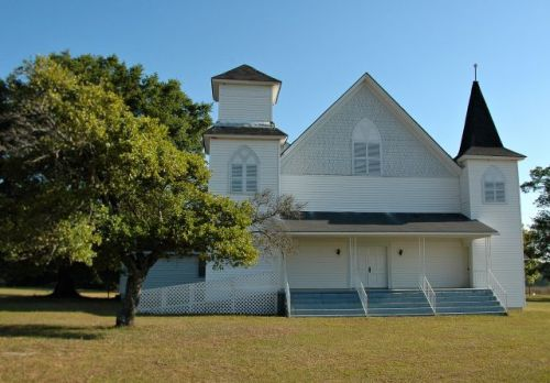 historic abba baptist church irwin county ga phoitograph copyright brian brown vanishing south georgiia usa 2011