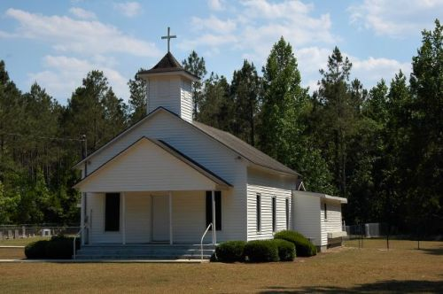 historic hopewell united methodist church tattnall county ga photograph copyright brian brown vanishing south georgia usa 2011