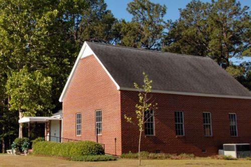 irwin county ga new prospect baptist church photograph copyright brian brown vanishing south georgia usa 2011