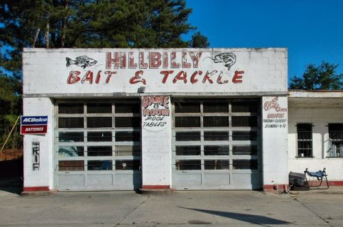 ludowici ga hillbilly bait and tackle photograph copyright brian brown vanishing south georgia usa 2011
