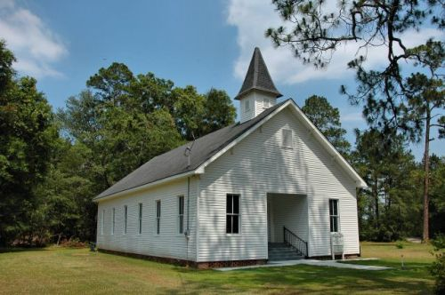 historic naylor united methodist church photograph copyright brian brown vanishing south georgia usa 2011