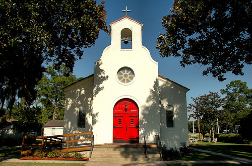 Nativity Of Our Lady Catholic Church Spanish Mission Revival