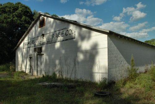 ocilla ga farmers cold storage company photograph copyright brian brown vanishing south georgia usa 2011