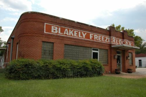 blakely ga freezer locker photograph copyright brian brown vanishing south georgia usa 2010