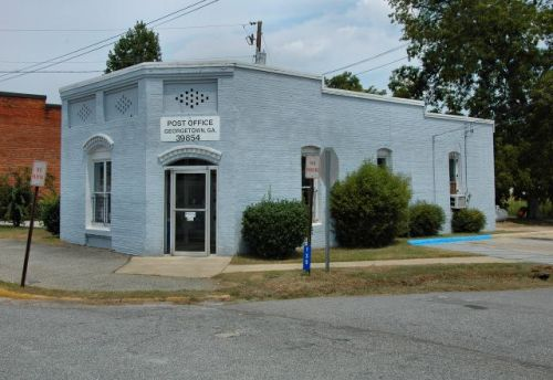 georgetown-ga-post-office-photograph-copyright-brian-brown-vanishing-south-georgia-usa-2011