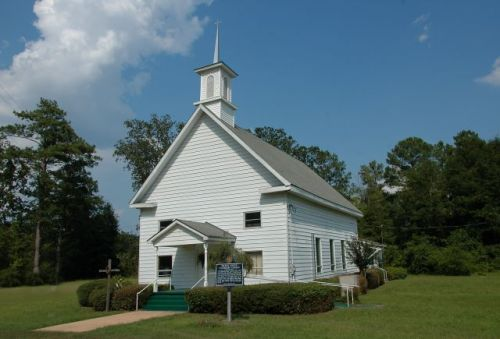 historic hilton methodist church early county ga photograph copyright brian brown vanishing south georgia usa 2011
